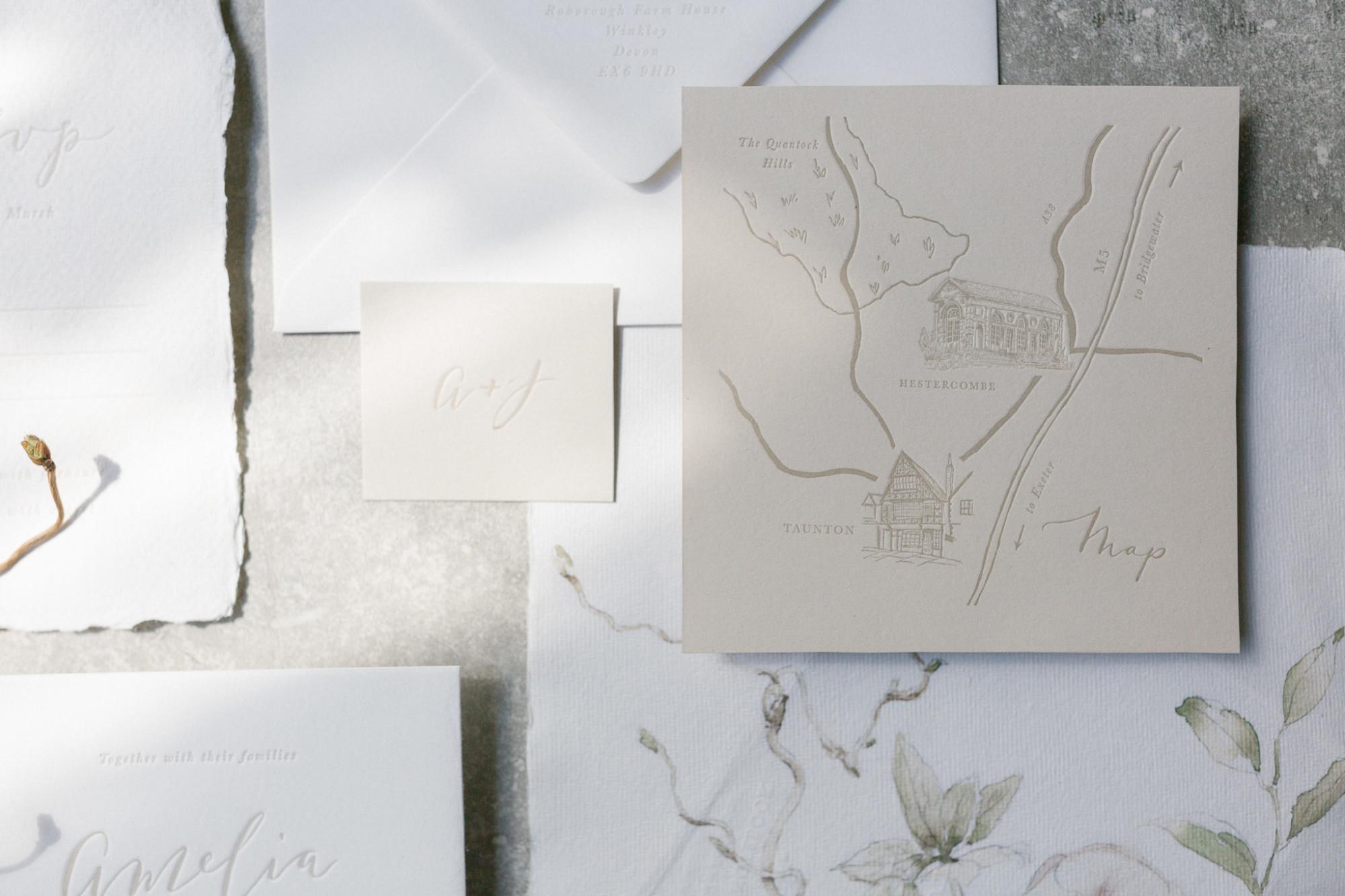 Letterpress Wedding Invitations | The Whistle Press